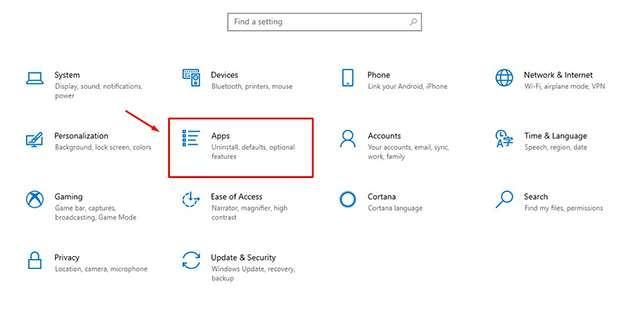 Cách gỡ cài đặt MEmu trên Windows 10 bước 2