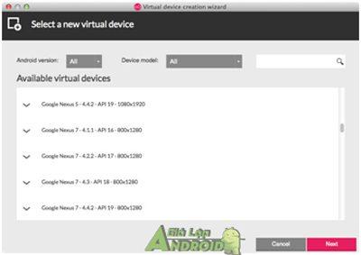 Download Genymotion Gia Lap Android Tot Va Nhe Nhat Cho May Tinh 7