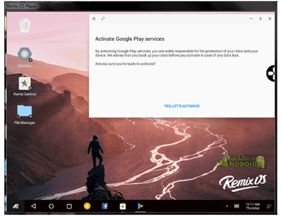 Download Remix Os Player Gia Lap Android Tot Nhat Tren May Tinh 6