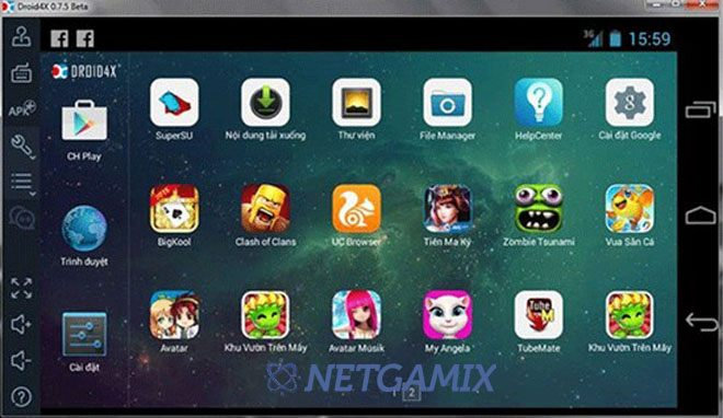 Droid4X - Download Phần Mềm Giả Lập Android Droid4x Mới Nhất